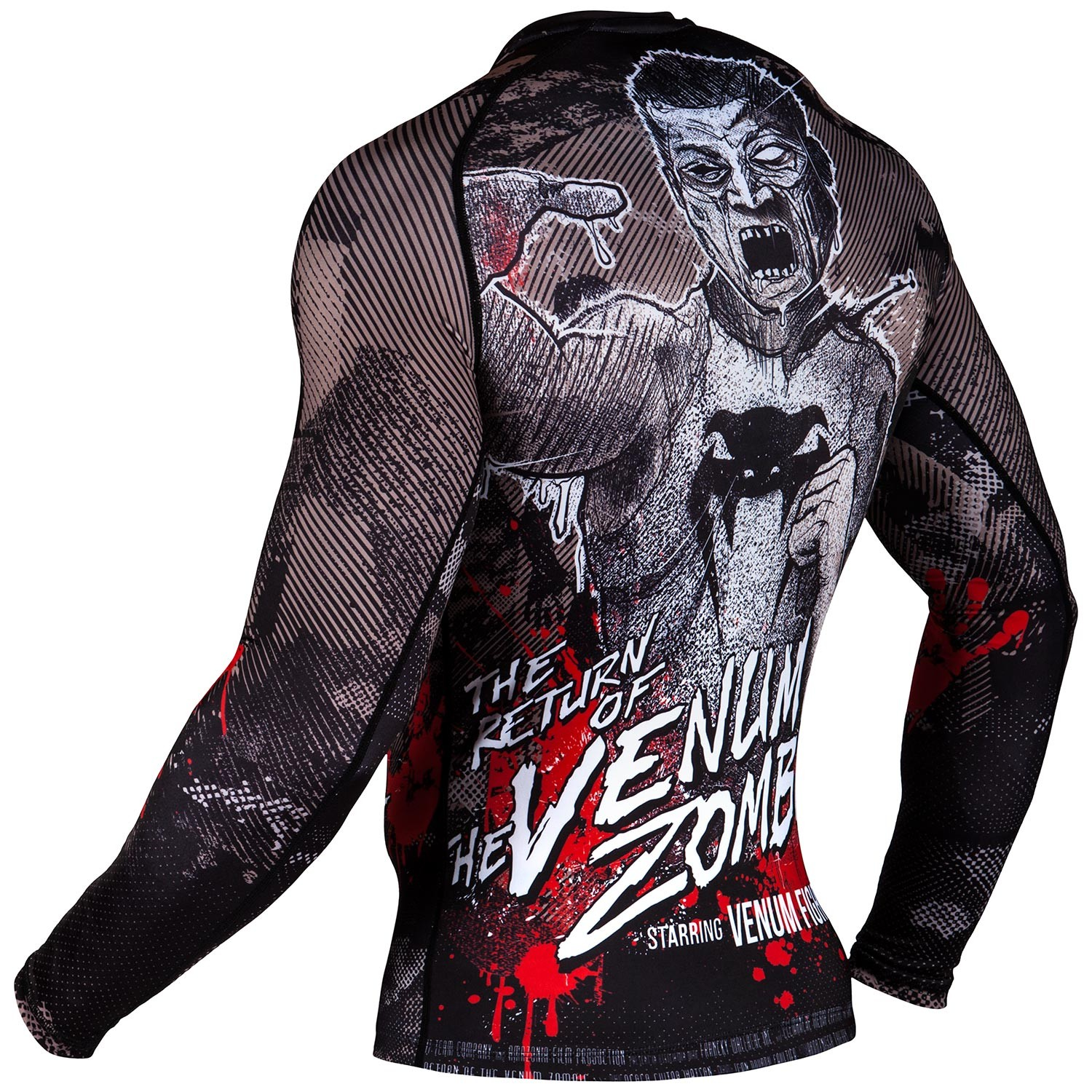 Рашгард Venum Zombie Return Black L/S